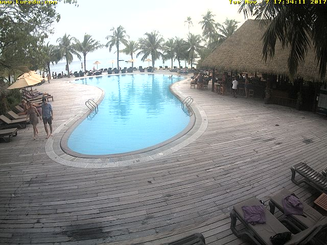 Kuredu Pool Bar Webcam
